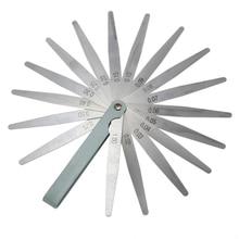 Новинка 0,02 до 1 мм 17 толщина лезвия зазор метрический наполнитель щупа прибор измерение инструмент