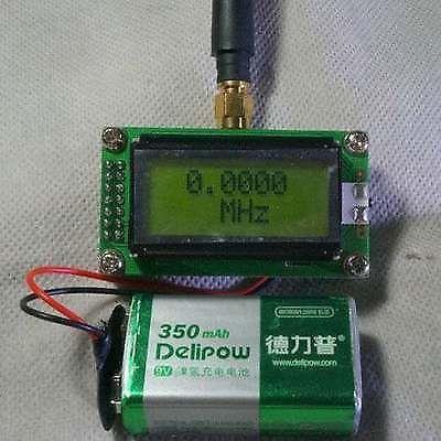 Contador da frequência da elevada precisão 1 500mhz de dykb + antena para o hobbist do rádio do presunto