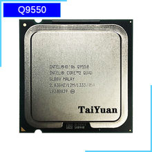 Intel Core 2 Quad Q9550 2.8 GHz Quad-Core processeur d'unité centrale 12M 95W 1333 LGA 775(China)