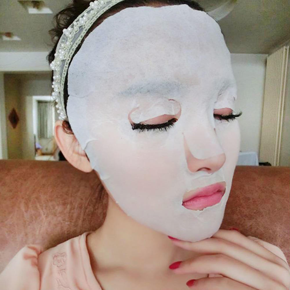 50/100pcs Compressed Cotton Facial Face Mask Sheet Paper DIY Natural Skin Facial Care Tools Accessories