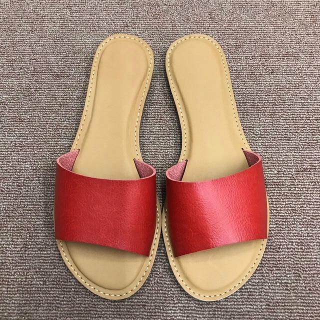 Woman Slippers 2019 Summer New Fashion Slides Womans Sandals Summer Flats  Outdoor Shoes Women Beach Shoes Slippers Sandals ce67d5128359