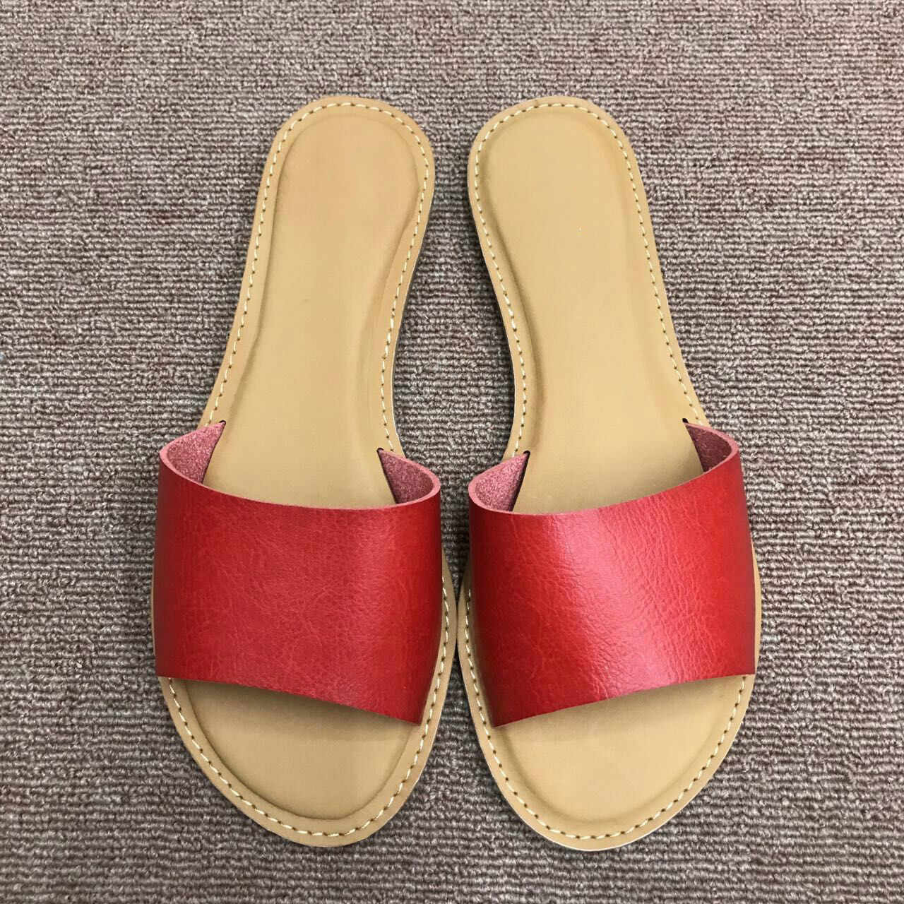187d21948c00d7 Woman Slippers 2019 Summer New Fashion Slides Womans Sandals Summer Flats  Outdoor Shoes Women Beach Shoes