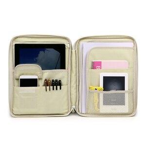 Женская Сумка для документов, водонепроницаемая папка для паспорта, Офисная папка для файлов, сумка для ноутбука, органайзер для ноутбука, п...