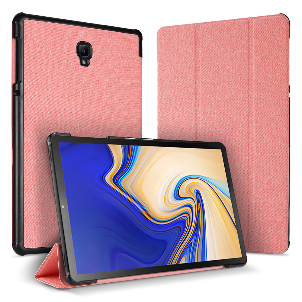 Flip Tablet Case For Samsung Galaxy Tab S4 Tablets Case 10.5 Inch Flip Leather Tablet Case Folding Stand Sleep Shell Protector