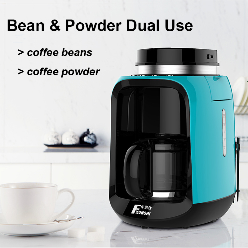 220V 0.6L Automatic Electric Coffee Maker Machine Powder Bean Filter 2 Modes Taste 600W Home Office American Coffee Machines220V 0.6L Automatic Electric Coffee Maker Machine Powder Bean Filter 2 Modes Taste 600W Home Office American Coffee Machines