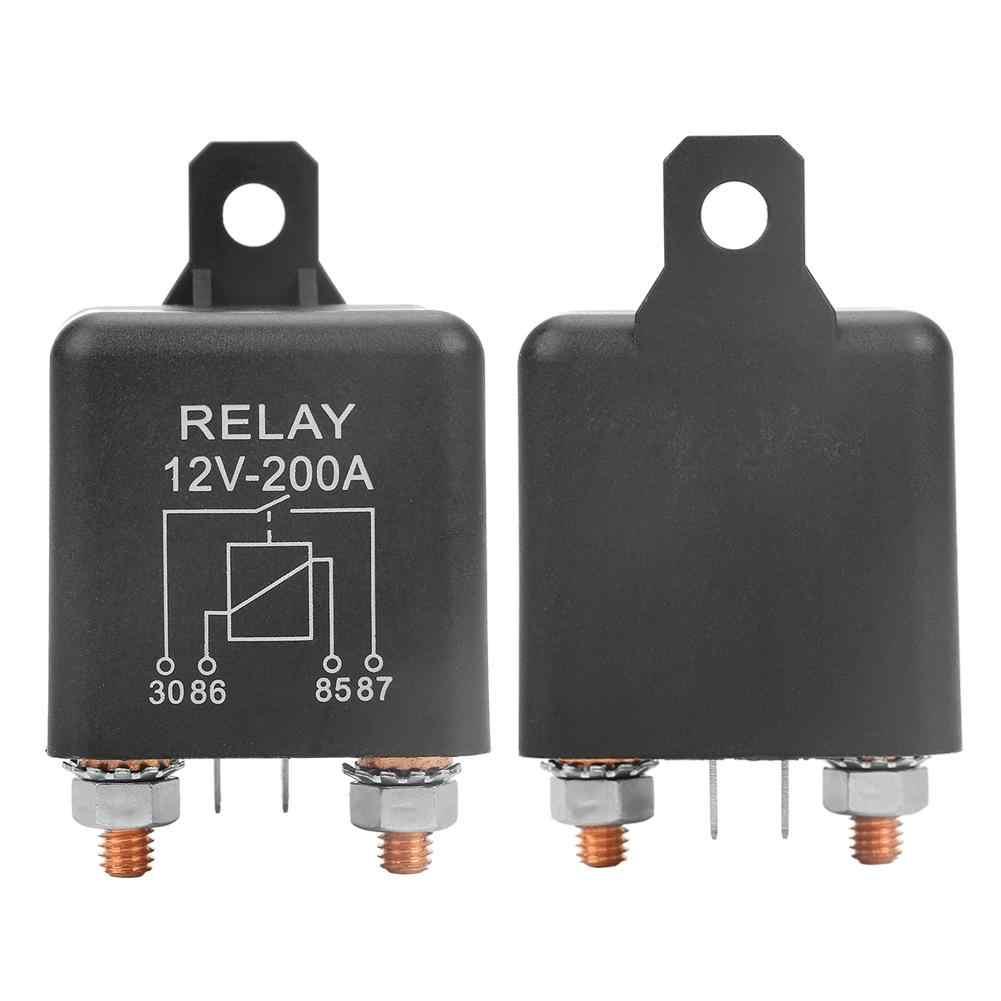 Hot Sale WM686 12 V Relay Biasanya Buka Mulai Relay 4-Pin Mulai Tugas Berat Mobil Onoff Switch Relay RL180 200A