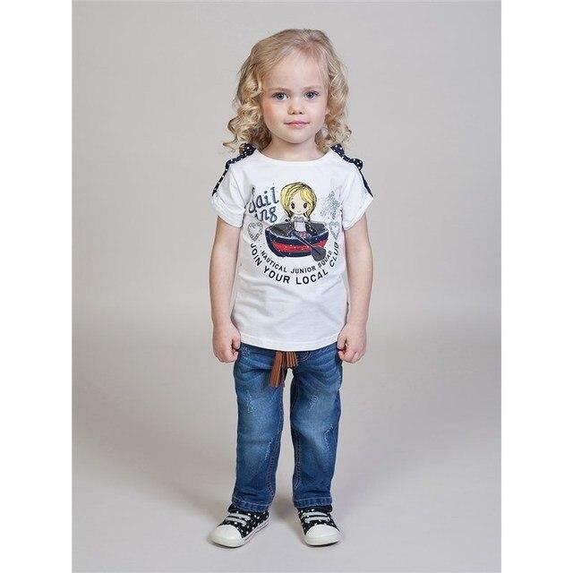 Брюки джинсовые Sweet Berry для девочек