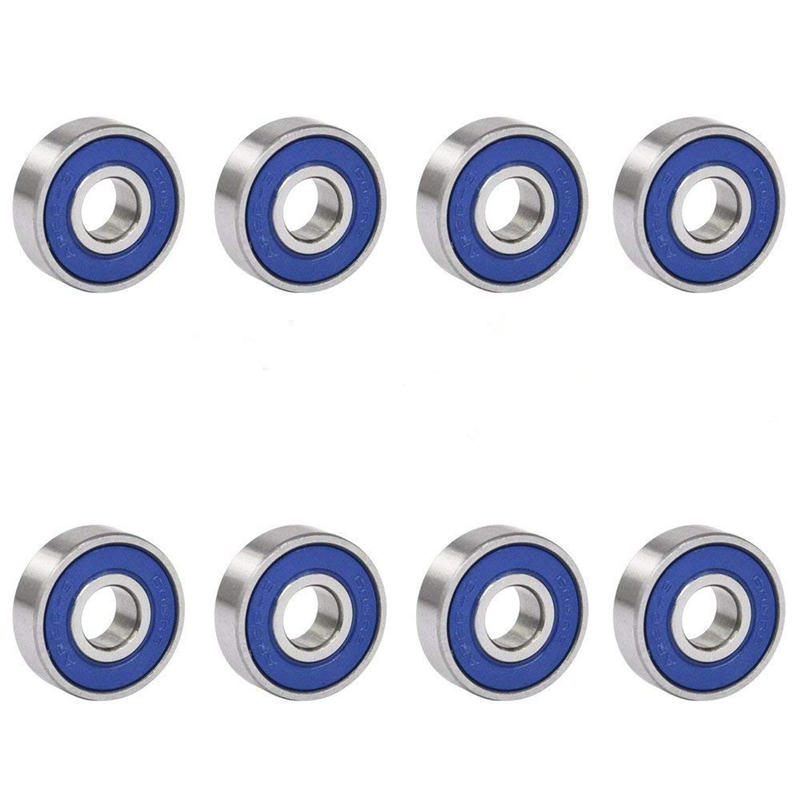 Hot Sale 8 X Frictionless Ball Bearings ABEC 9 For Skateboards Scooters Inline Skates