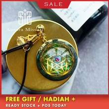 Orgonite Life Source Pendant Energy Crystal Reiki Pendant Necklace Improve Fortune Charms Pendant For Women C0112