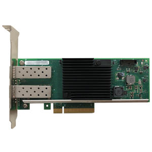 Eastforfuy Ethernet-Network-Card X710-DA2 Intel Pcie Chipset Optical-Interface 10gbps-Port