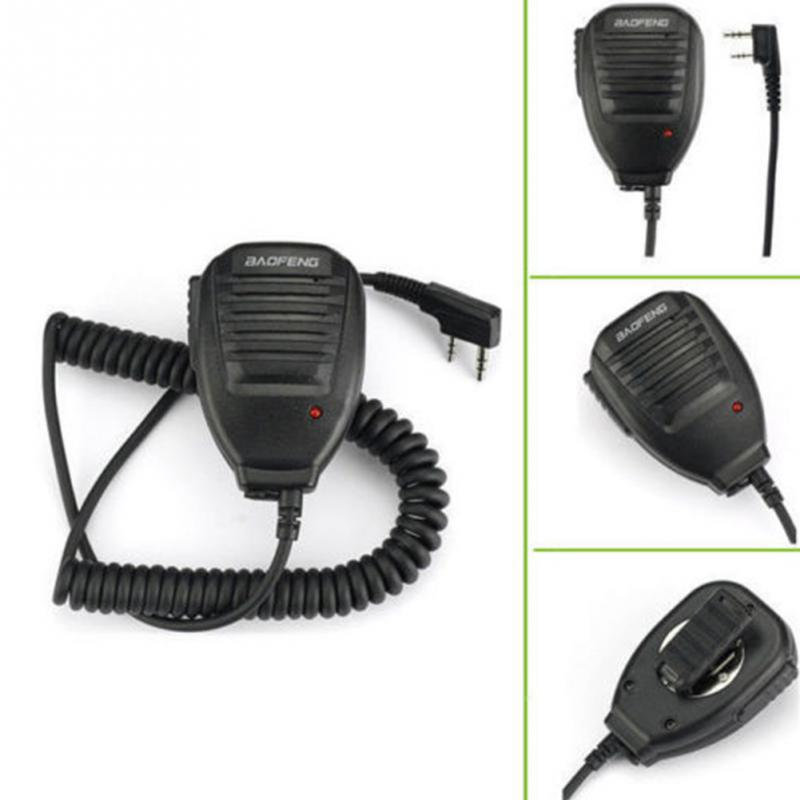 PTT Speaker Microphone Mic Accessories for Baofeng UV-5R Bao feng BF-888s Radio dois microphone Computer