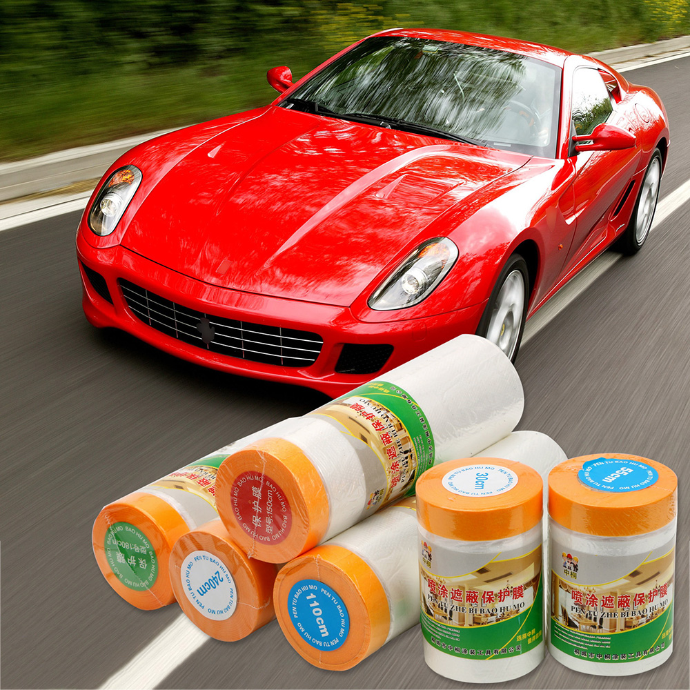 Spray Paint Protection Film Dust Protection For Car Paint