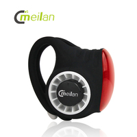 MEILAN Bike Bicycle Wireless Control Bell Anti theft Alarm USB Rechargeable IPX6 Waterproof Bicycle COB Cycling Light