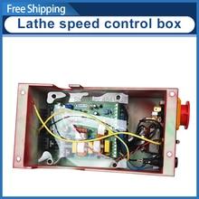 7x10 & 7x12 Mini Drehmaschine speed control box SIEG C2 220 V Control Box Montage Elektrische control box platine montage box