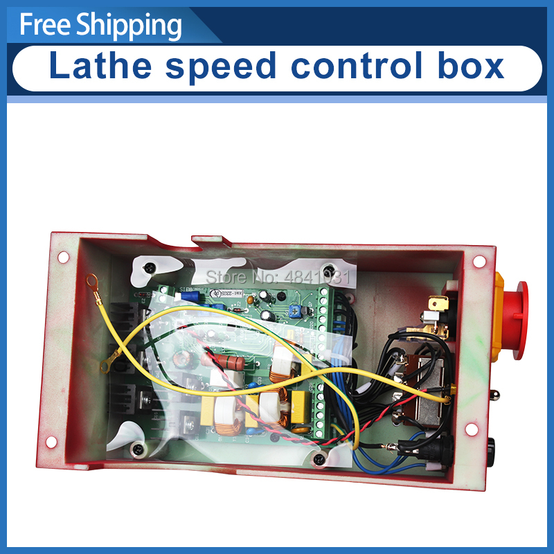 7x10&7x12 Mini Lathe speed control box SIEG C2 220V Control Box Assembly Electrical control box Circuit board mounting box