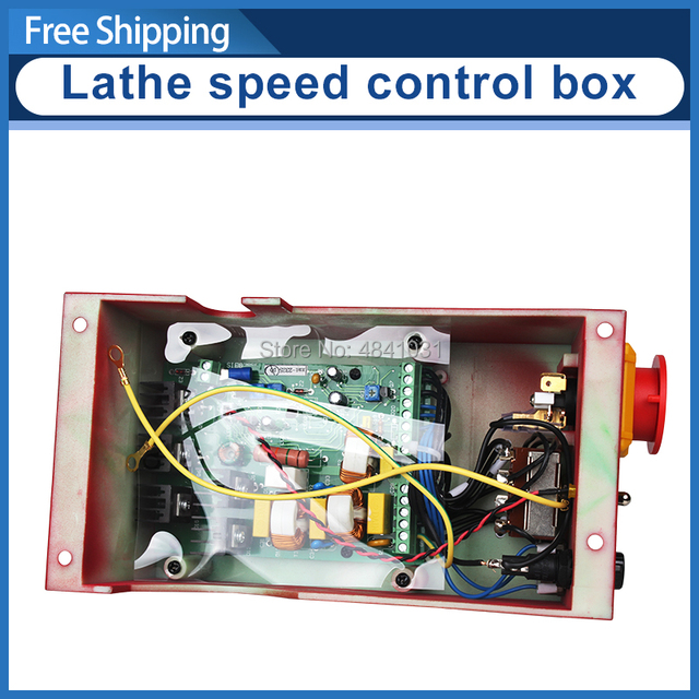 7x10&7x12 Mini Lathe speed control box SIEG C2 220V Control Box Assembly Electrical control box Circuit board mounting box