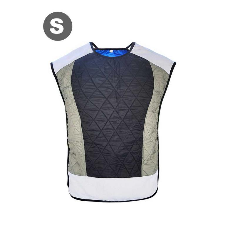 Portable Cooling Vest Motorcycle Bicycle Riding Vest Cooling Suit Water Evaporation Waistcoat Refrigeration Clothes For Men