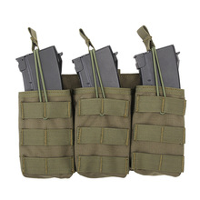 Tactical Triple Magazine Pouch for G36 Mag Outdoor Paintball Games Group Activities Outdoor Pocket Bag