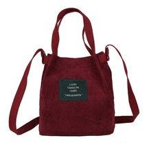 e7ebef9c4 2018 diseñador de bolsos de mano de mujer de alta calidad bolso de pana  Vintage de