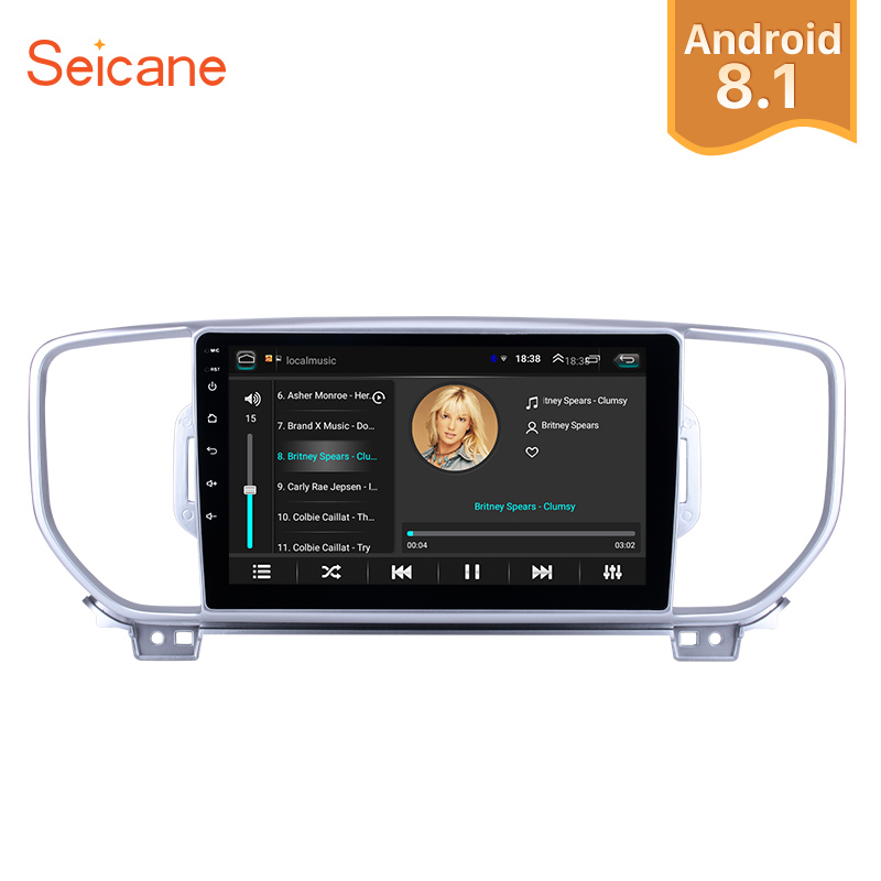 Seicane 2Din Android 8 1 9 inch Car Radio For 2016 2017 2018 KIA KX5 Sportage