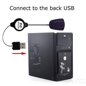 Image 2 - ماوس لاسلكي للتحكم عن بعد جهاز استقبال USB IR جهاز التحكم عن بعد لوحدة كمبيوتر Loptop مركز الكمبيوتر ويندوز 7 8 10 Xp فيستا