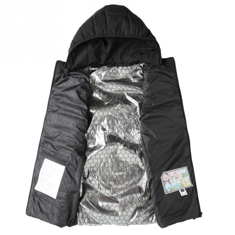 все цены на Men Women Electric USB Heated Vest Heating Waistcoat Thermal Warm Clothing Winter Jacket Outdoor Sleeveless Vest for Hinking онлайн
