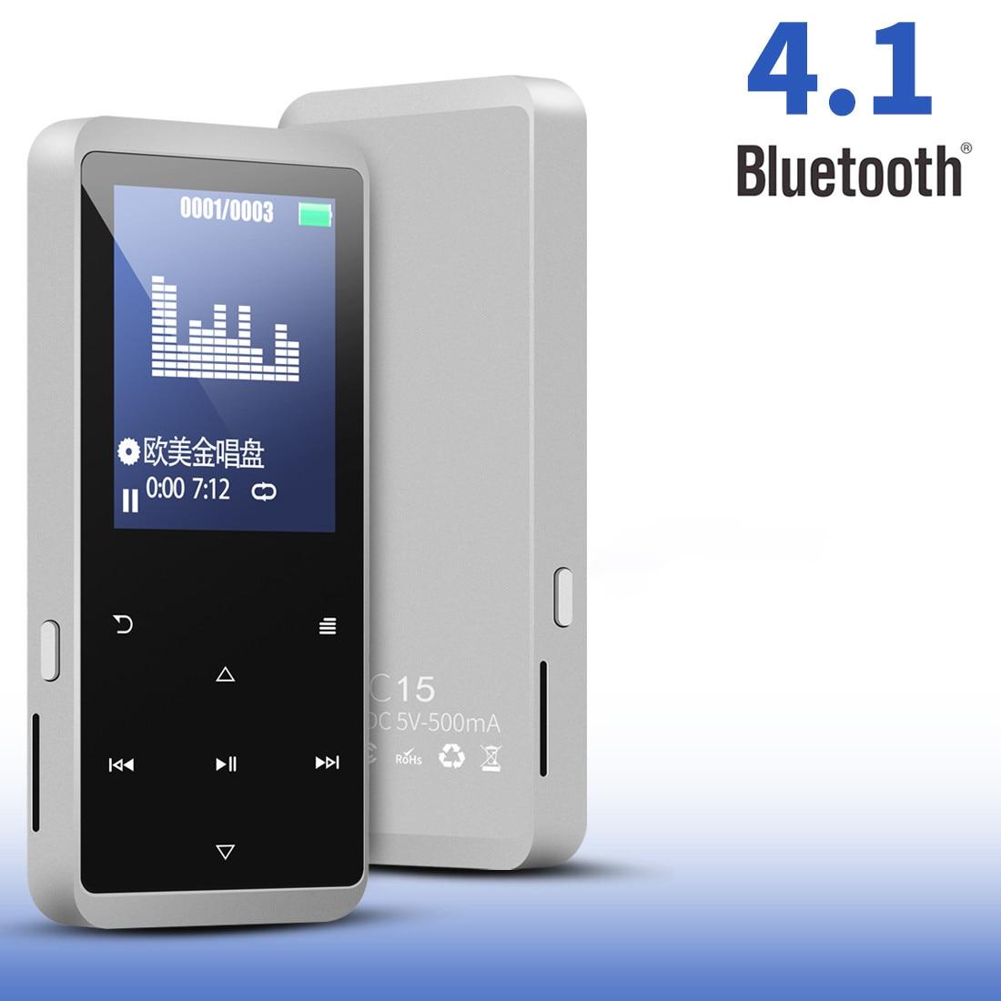 Cross Border for Bluetooth MP3 Walkman Portable Card Instert Non Destructive Music Touch MP4 Music Player Voice Recorder