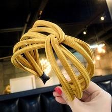 Korean fashion wide hair band seaside bohemian girl popular temperament accessories womens