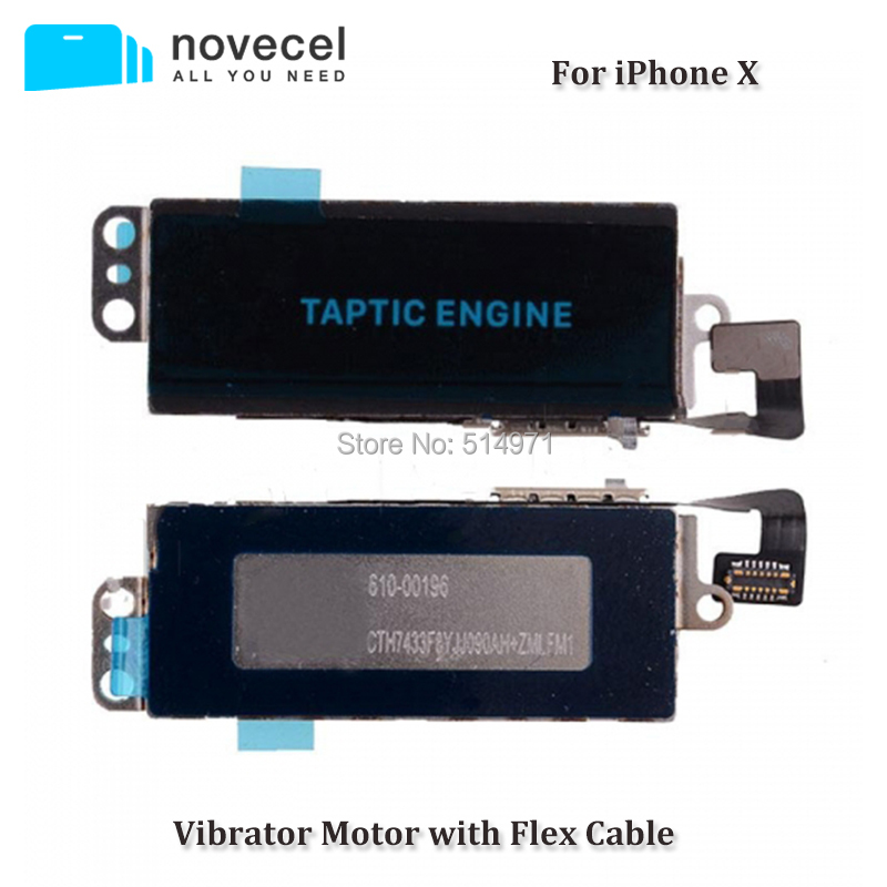 Novecel High Quality For iPhone X Flex Cable Vibrator Motor Vibrator Flex Cable Cell Phone Replacement Parts