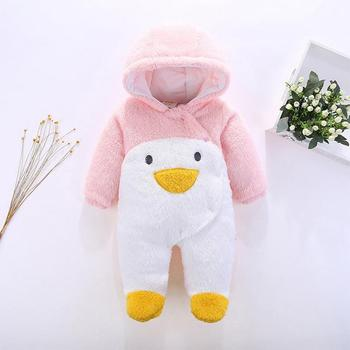 2018 Infant Romper Baby Boys Girls Jumpsuit New Born Bebe Clothing Hooded Toddler Baby Clothes Cute Panda Romper Baby Costumes 3