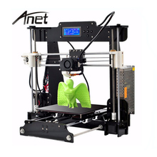 цена на Anet A8 3D Printer Upgraded Reprap Prusa i3 DIY 3D Printer Kit 0.4 Nozzle Layer Height With Arcylic Hotbed and Free PLA Filament