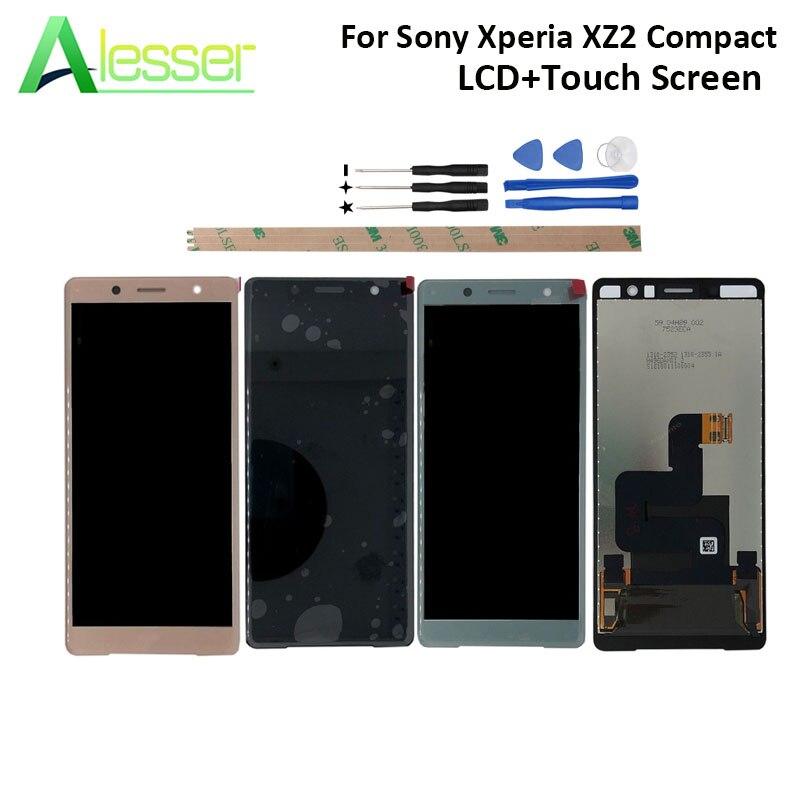 Alesser pour Sony Xperia XZ2 Compact écran LCD et écran tactile numériseur pour Sony Xperia XZ2 Compact + outils + adhésif