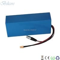 Qualidade superior personalizado li ion battery pack 44.4V 35Ah 12S marca o uso de células de energia com carregador de 50.4V 4A|Bateria de bicicleta elétrica| |  -