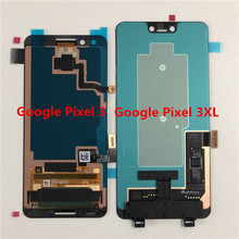 "Original Supor AMOLED M & Sen 5.5 ""สำหรับ Google Pixel 3 จอแสดงผล LCD + Digitizer แผงสัมผัส 6.3"" สำหรับ Google Pixel 3 XL LCD"
