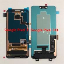 """Supor original amoled m & sen 5.5 """"para google pixel 3 display lcd tela + painel de toque digitador 6.3"""" para google pixel 3 xl lcd"""