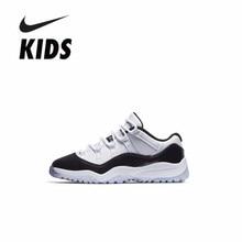 brand new 09ea3 e45b6 NIKE AIR JORDAN 11 AJ Joe 11 Children Easter Motion New Pattern Shoes  Breathable Outdoor Sneakers