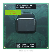 Intel Core 2 Duo T9400 SLB46 SLAYY 2,5 GHz Dual-Core Dual-Gewinde CPU Prozessor 6 M 35 W Sockel P