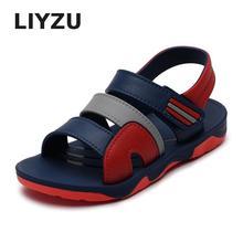 Детская обувь сандалии для мальчиков летняя мужская Студенческая нескользящая резиновая пляжная обувь для мальчиков детская обувь кроссовки Quinny Sandalia Infantil