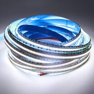 Image 2 - هايت الجودة 3014 LED قطاع DC12V مرنة الشريط 560 المصابيح/m مصباح ليد مصباح الأبيض الدافئة الأبيض للديكور المنزل 5 متر/وحدة
