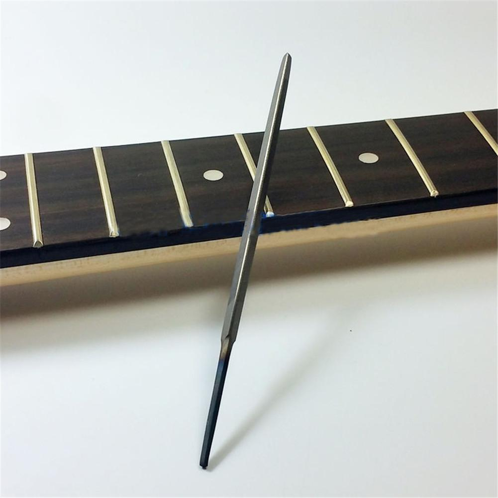 3-Corner Fret End Dressing Smooth File Smooth Corners Protect The Fretboard Useful For Luthiers Guitarists DIY Supplies