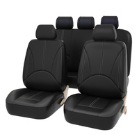 9 Pcs Car Universal Leather Seat Cover Seat Cushion Seat Cover
