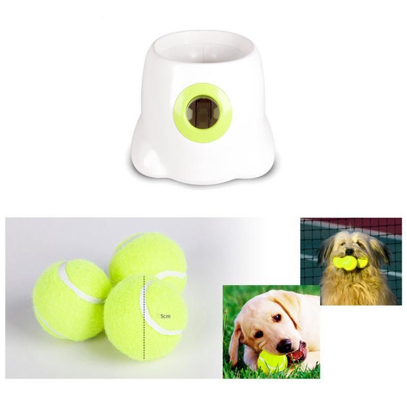Automatique Balle Lanceur Pour Pet Chiens Calendrier Balle De Tennis Lancement Machine jouet interactif Pour Animaux Et Les Propriétaires livraison directe