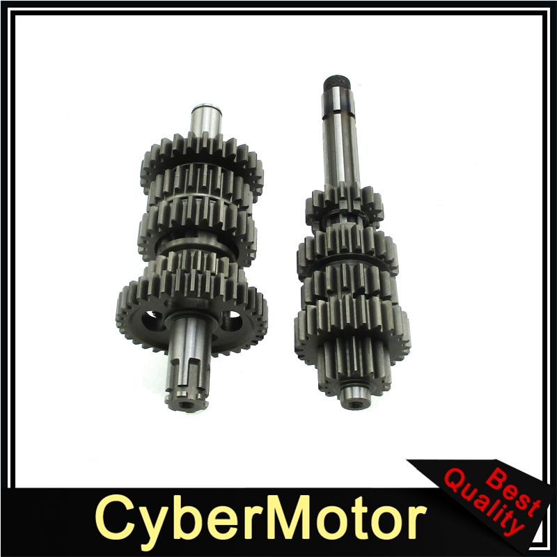 Gear Box Main Counter Shaft For Zongshen Z190 190cc ZS1P62YML 2 Engine Pit Dirt Bike-in Crankshafts from Automobiles & Motorcycles    1