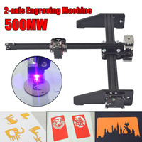 New Style 500MW 2 Axis Laser Engraving Machine Cutting Engraver CNC Logo Printer Machine DIY Laser Engraver Machine
