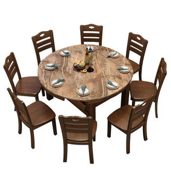 Redonda Comedores Mueble Eettafel Salle un pesebre Moderne Esstisch De  madera De cocina De ronda De Jantar Tablo Mesa De comedor