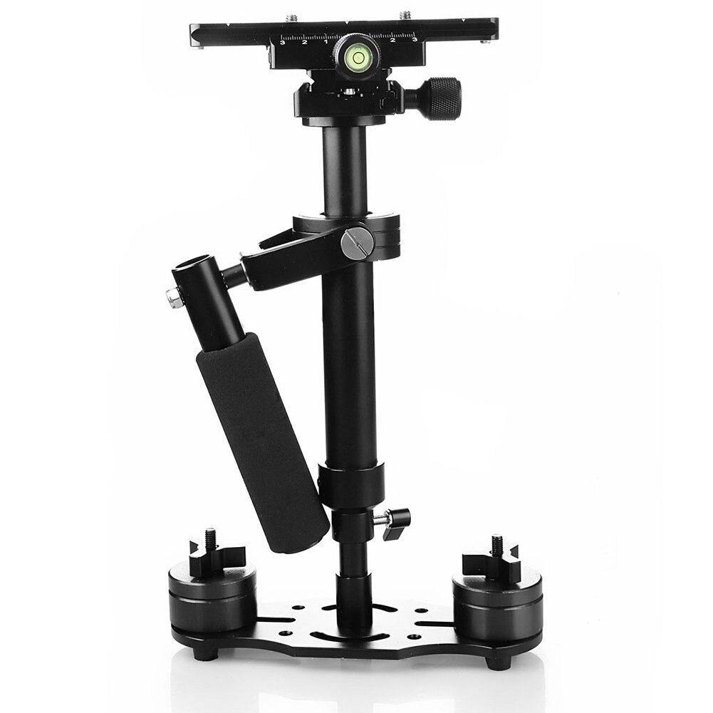 Appareil photo Portable stabilisateur Durable caméscope support réglable stabilisateur portatif appareil photo en alliage d'aluminium équipement photographique