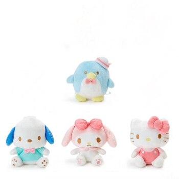 1 Pc Lovely Sanrio Series Plush Toy Hello Kitty My Melody Sam Penguin Pochacco Dog Plush Doll Cartoon Animal Stuffed Plush Toy stuffed toy