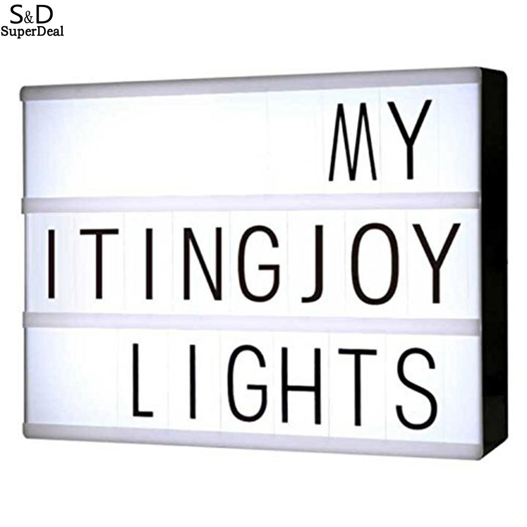 Home Old Kids School Office Cinematic 6W  Pattern Adult A4 6 Home LED Letter Light Size Etc More Office Light Than Years Box