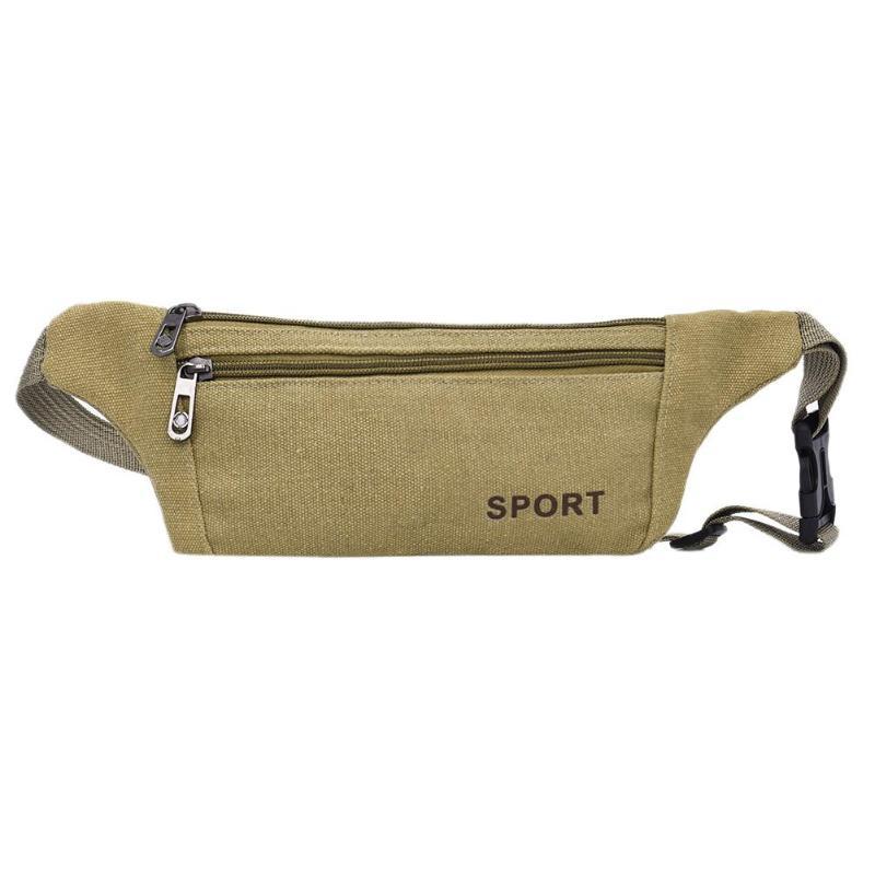 2019 Latest Design Women Men Waist Pack Zipper Canvas Sports Travel Crossbody Bag Outdoors Shoulder Casual Pouch Hand Running Bags Bolsas Feminina And To Have A Long Life.