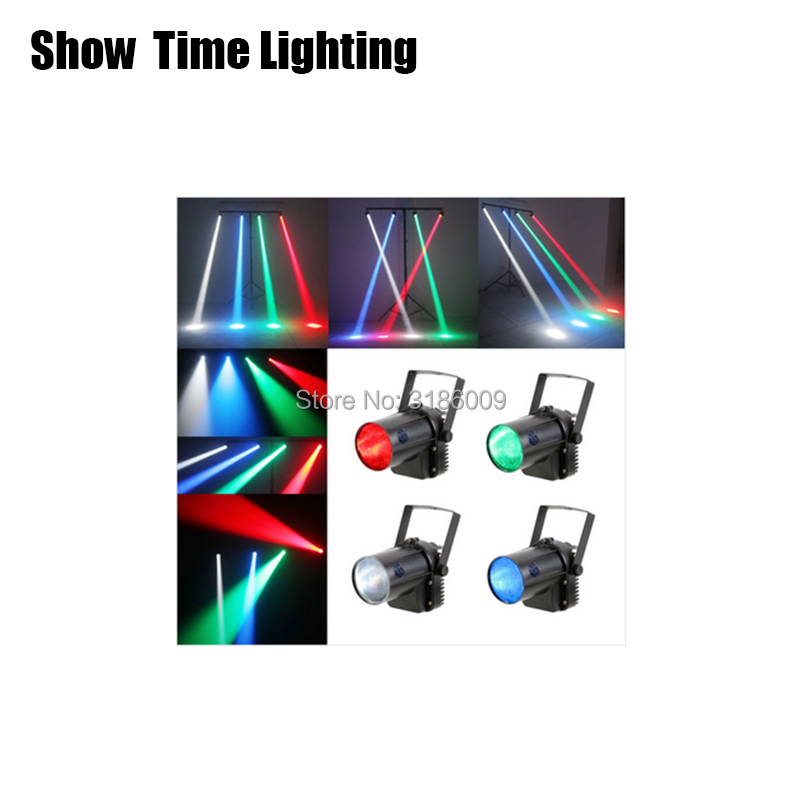 Show Time Mini LED 5W PinSpot stage light/LED Beam spot Stage effect color light DJ KTV Party Disco wedding all star in sky image